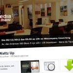 Wattz Up, evento de marketing digital na Barra da Tijuca