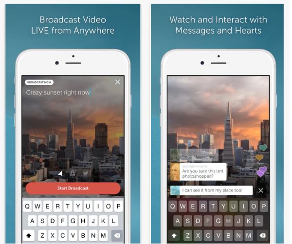Twitter entra na briga e lança Periscope, app de vídeos em tempo real