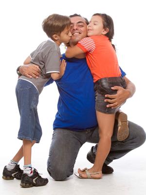 Eu participo ativamente da vida dos meus filhos